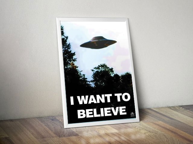 Poster I want to Believe