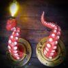 Par de tentáculos decorativos